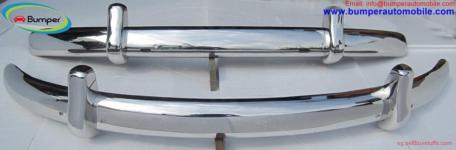 second hand/new: Volkswagen Beetle Euro style bumper (1955-1972) stainless steel