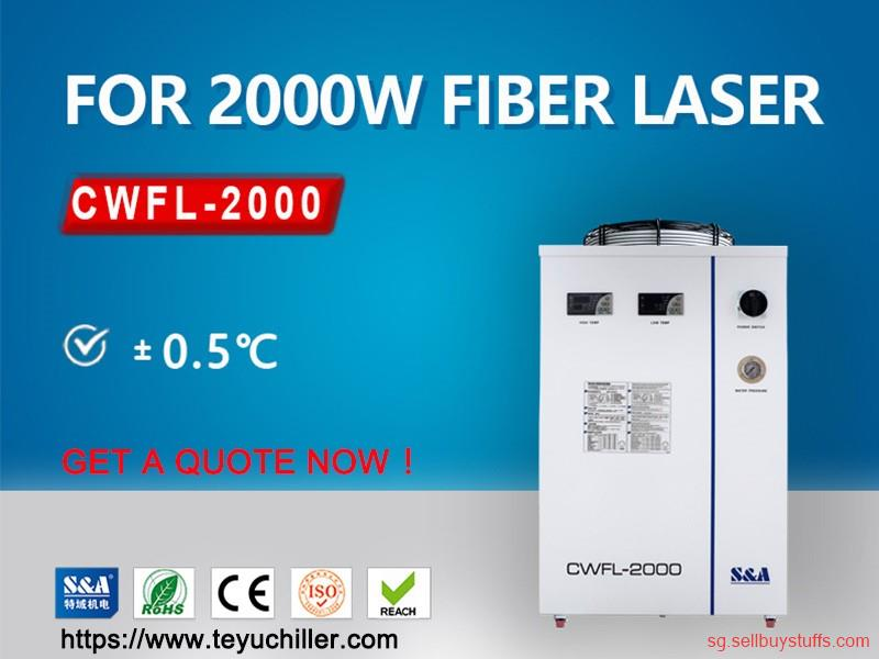 second hand/new: Air cooled chiller for fiber laser welding machine