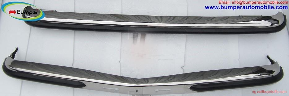 second hand/new: Mercedes W123 Sedan bumper (1976 – 1985) stainless steel