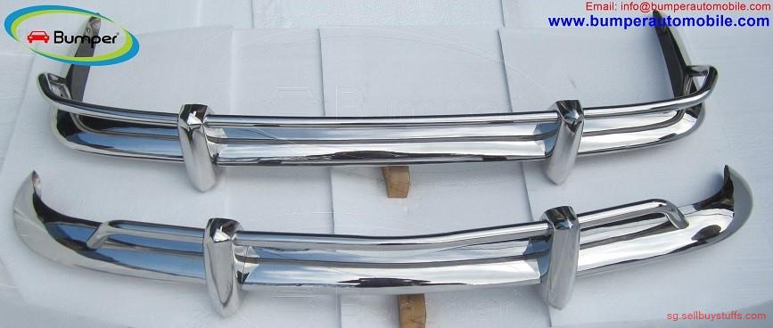 second hand/new: VW Karmann Ghia USA type bumper (1955 – 1966) stainless steel