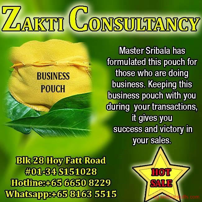second hand/new: ZAKTI CONSULTANCY BUSINESS POUCH