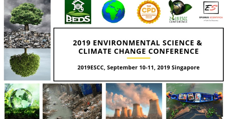 second hand/new: 2019 Environmental Science and Climate Change Conference