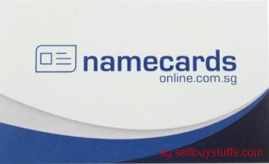 second hand/new: Name cards Singapore