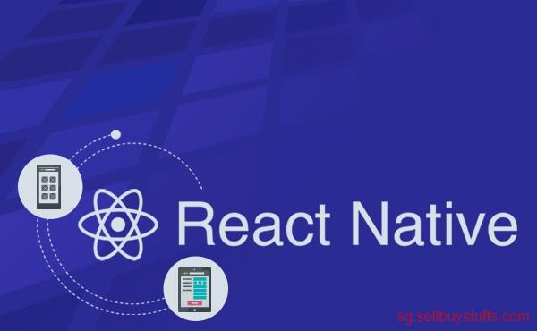 second hand/new: React Native Mobile App Development in singapore