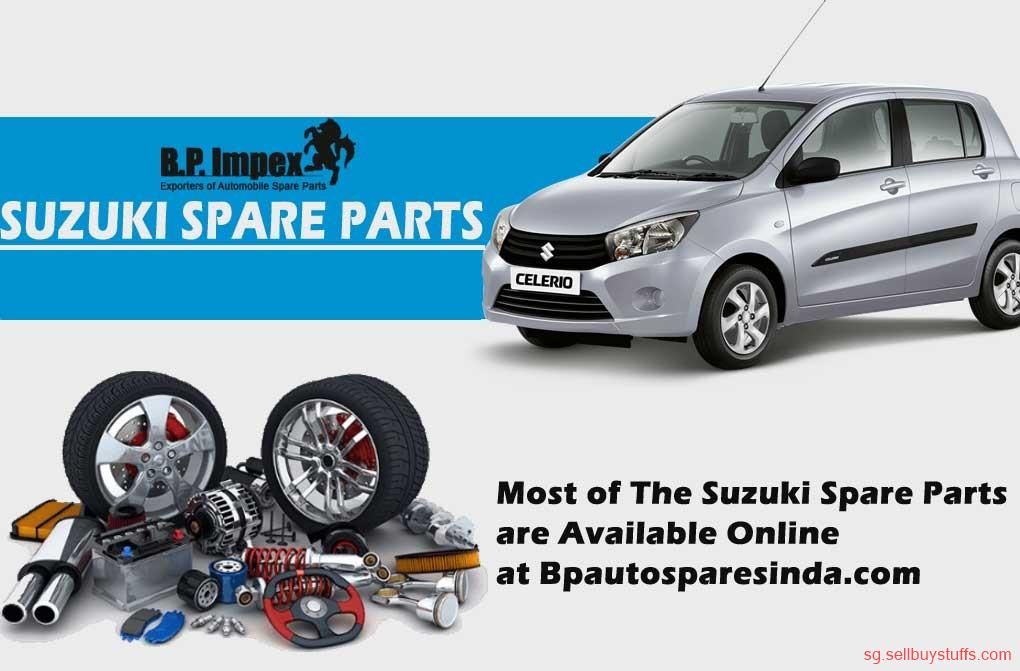 second hand/new: Most of The Suzuki Spare Parts  are Available Online  at Bpautosparesindia.com