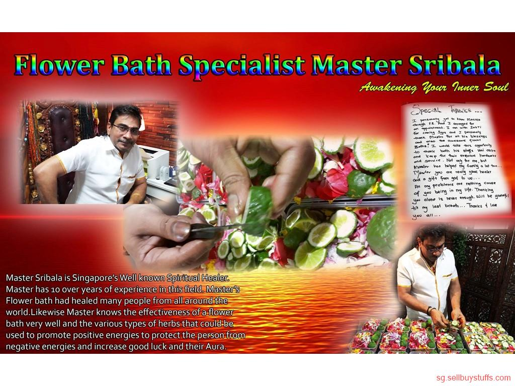 second hand/new: ZAKTI CONSULTANCY  FLOWER BATH SPECIALIST MASTER SRIBALA