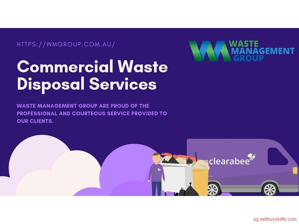 second hand/new: Commercial Waste Disposal Services