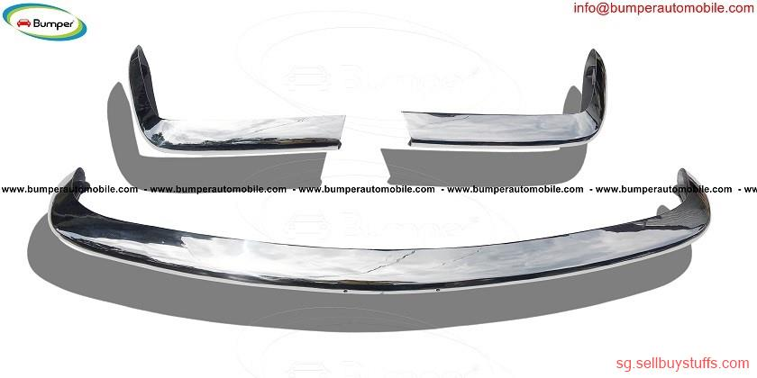 second hand/new: Fiat 124 Spider bumper kit ( 1966 – 1975 ) stainless steel