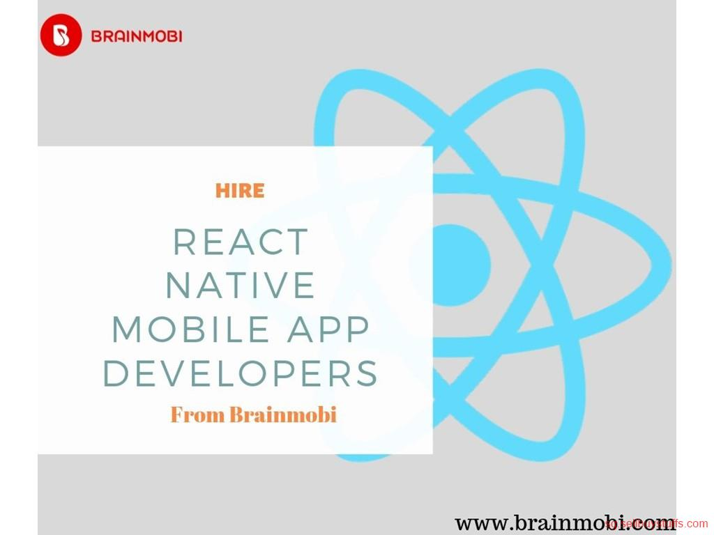 second hand/new: React Native Mobile App Developers