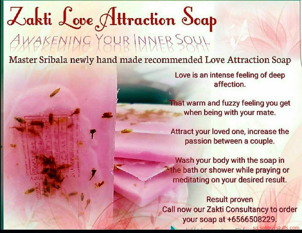 second hand/new: MASTER SRIBALA HAND MADE LOVE ATTRACTION SOAP