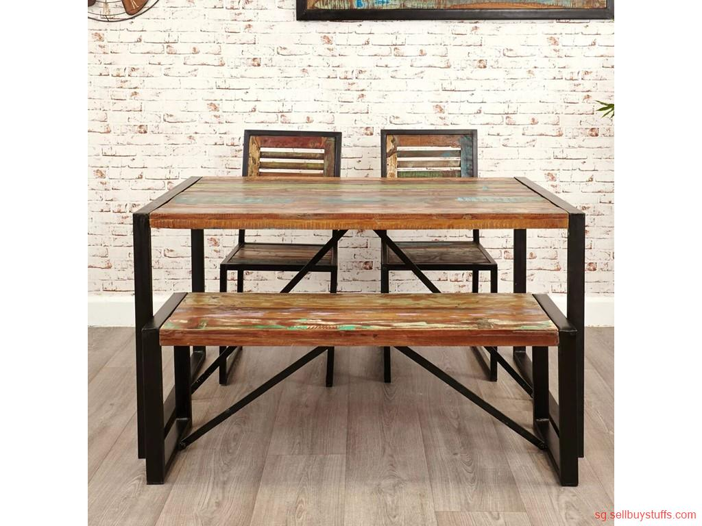 second hand/new: Reclaimed Wood Furniture wholesaler