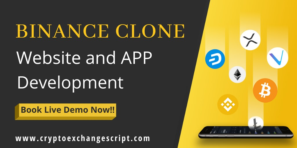 second hand/new: Binance Clone Website & App Development