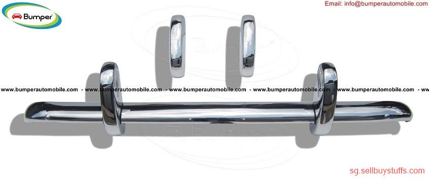 second hand/new: Triumph TR3A bumper kit (1957–1962) in stainless steel
