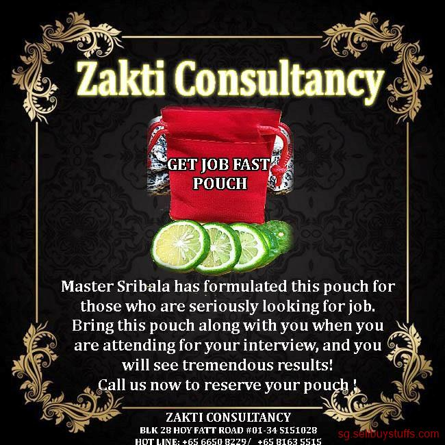 second hand/new: ZAKTI CONSULTANCY GET JOB FAST POUCH