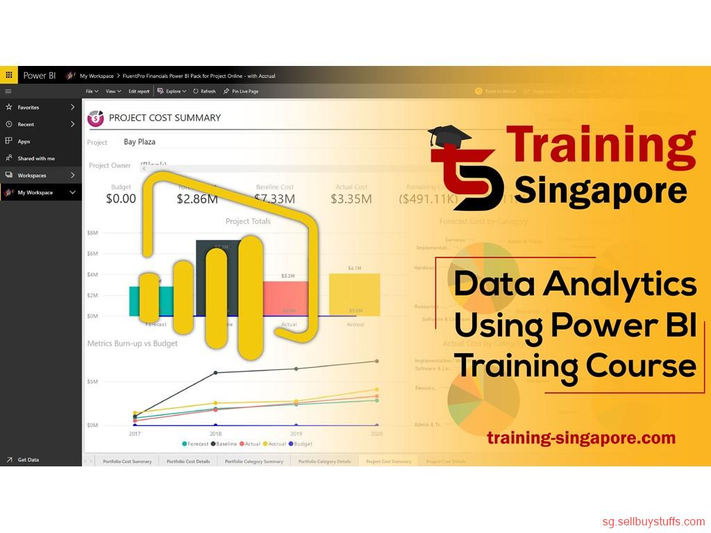 second hand/new: Best Power Bi Course in Singapore