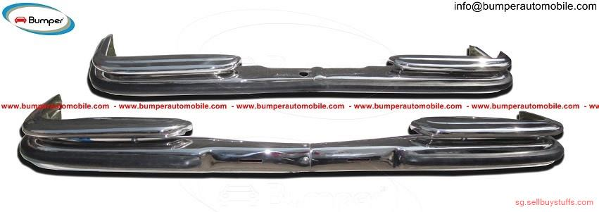second hand/new: Mercedes Benz W108 & W109 bumper (1965-1973) stainless steel