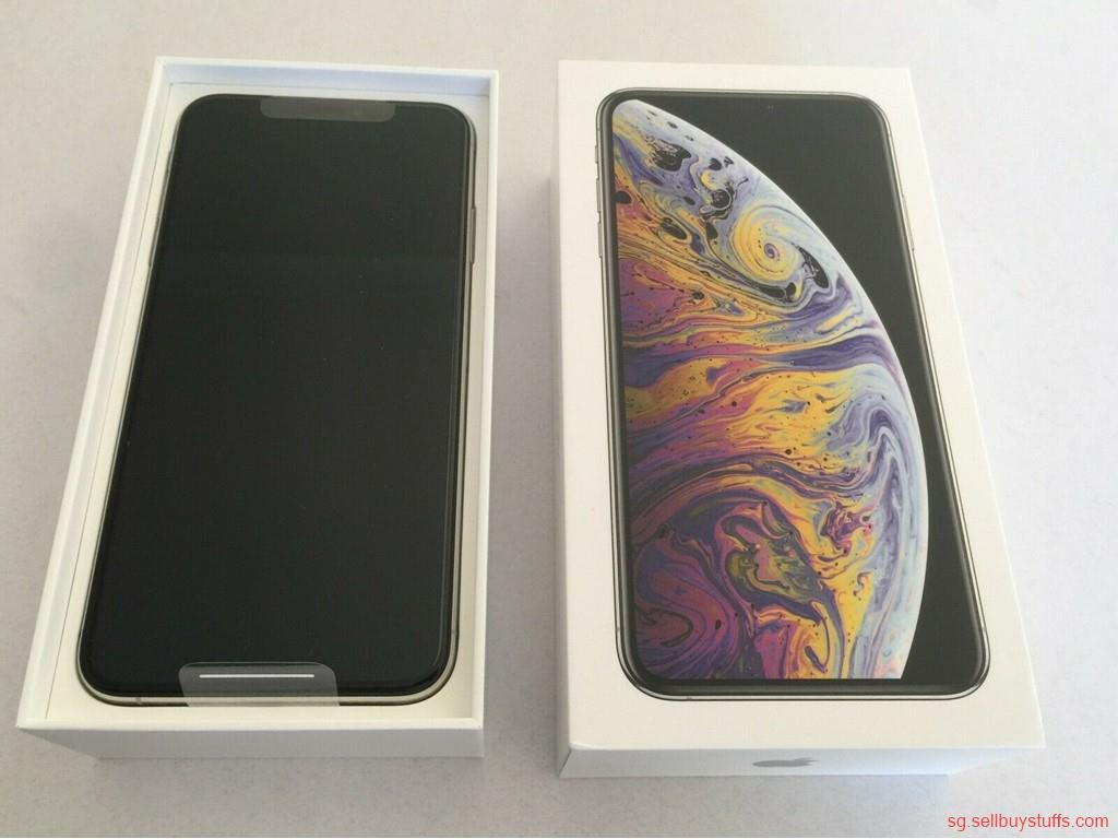 second hand/new: NEW SEALED Apple iPhone XS Max - 512GB - Silver (FACTORY WORLDWIDE UNLOCKED)