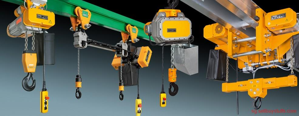 second hand/new: Electric chain hoist