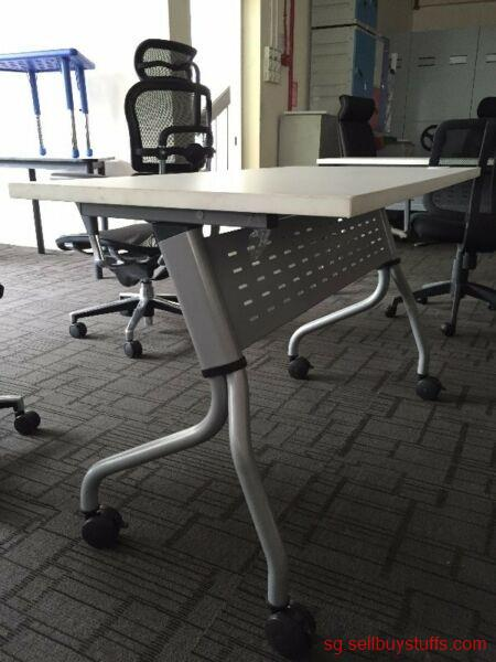 second hand/new: Easy to fold up and store away Folding Tables for sale
